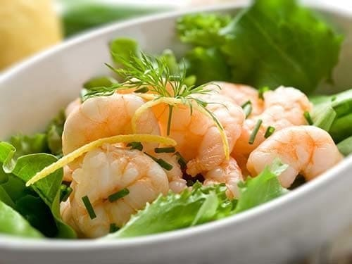 wild caught american salad shrimp