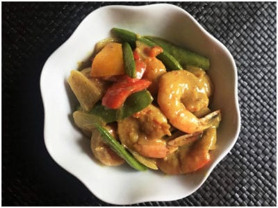 Simple Shrimp Curry by Cooking with Amy