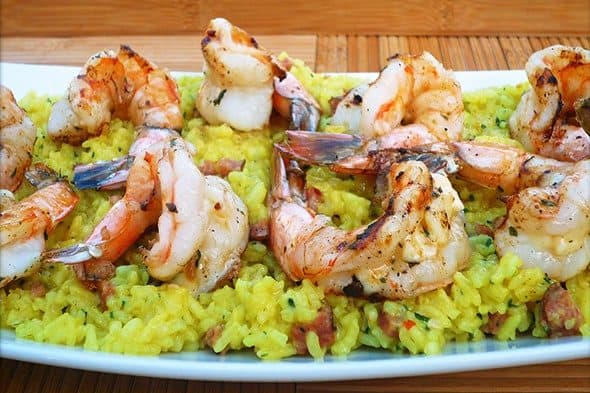 cheese-stuffed shrimp