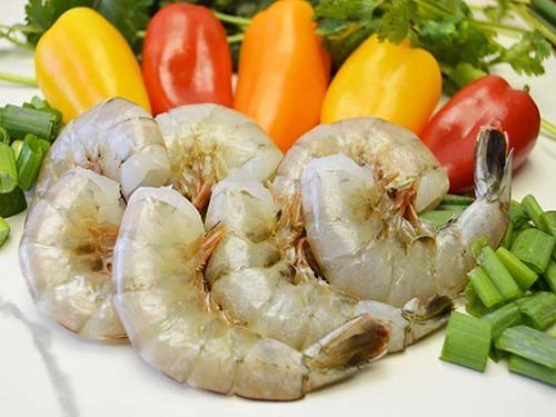 jumbo HLSO wild caught american shrimp