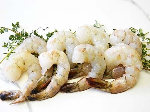 peeled and deveined 2125 wild caught american shrimp