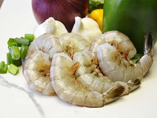 headless shell-on wild caught american shrimp