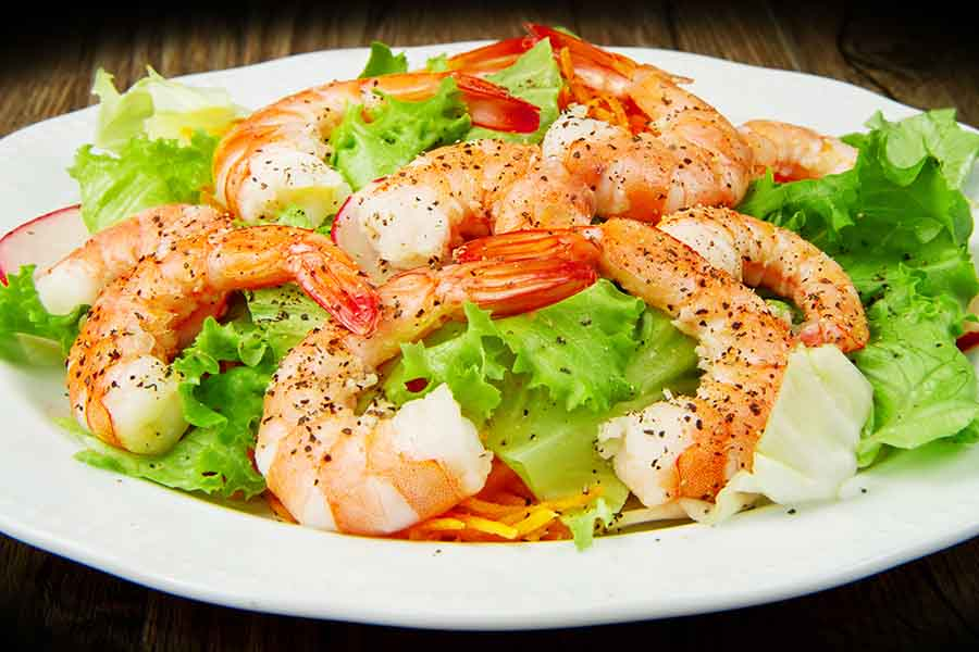 american shrimp salad